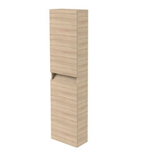 Kartell Ikon Wall Mounted Tall Storage Unit - 1600mm High - Oak - Right Handed